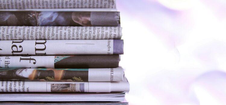 Zewnętrzne biuro ogłoszeń jako współpracownik wydawnictw prasowych